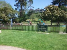Here is the Virginia Lake Play Area, its an awesome little fun park for kids :).