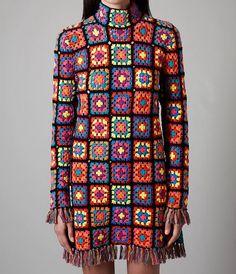 Love this granny square dress!
