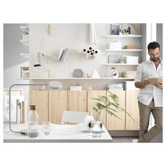 IKEA - IVAR, Cabinet, pine, Untreated solid wood is a durable natural material which is even more hardwearing and easy to look after if you oil or wax the surface. You can move shelves and adapt spacing to suit your needs.