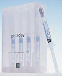 8 PolaDay Advanced Tooth Teeth Bleaching Whitening 9.5% Hydrogen Peroxide Gel