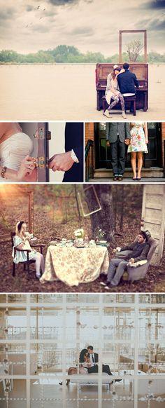 Praise Wedding » Wedding Inspiration and Planning » 31 Creative Engagement Shots