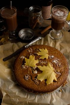 world on a fork : armenian walnut and nutmeg cake.