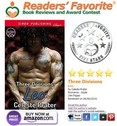 MAJOR good news today!!! THREE DIVISIONS: LEO receives 5 STAR rating/review from READER'S FAVORITE BOOK REVIEWS today! This is a huge international professional review site (doing flips and grinning like an idiot right now!!!)
