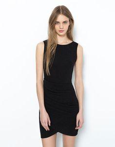 Bershka draped dress