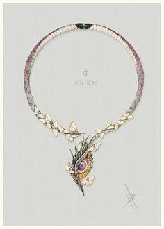 """https://www.facebook.com/ichien.jewellery Колье """"Верхом на Драконе"""""""