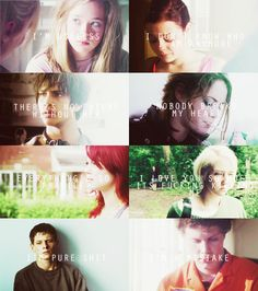 Skins UK - 2nd generation famous quotes
