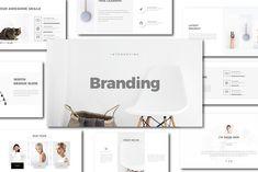 Branding Minimal Keynote Template by Dirtytemp Studio on @creativemarket