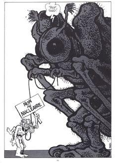 Tardi's contribution for the book: A ma mer - © Greenpeace, 1983