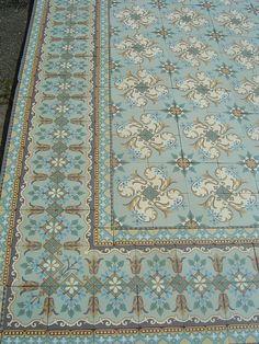 French Art Nouveau Floor