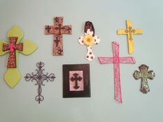 Love all these crosses