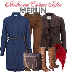 Inspired by Merlin played by Colin Morgan on the BBC series Merlin.