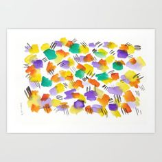 valourine - (via 180803 August Abstract 3 Watercolor Dreamcatcher, Abstract Watercolor Art, Butterfly Watercolor, Abstract Canvas Art, Watercolor Pattern, Watercolor Artists, Watercolor Ideas, Watercolor Print, Watercolor Paintings