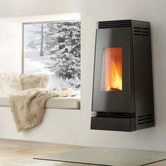 Interior Design with Modern Italian Fireplace Fireplace Design, Fireplace Ideas, Cabin Fireplace, Fireplace Furniture, Fireplace Mantel, Deco Design, My New Room, Home Decor Bedroom, Design Bedroom