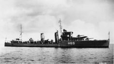 HMS FOXHOUND (H 69), later HMCS QU'APPELLE -  F-class Destroyer including Convoy Escort Movements