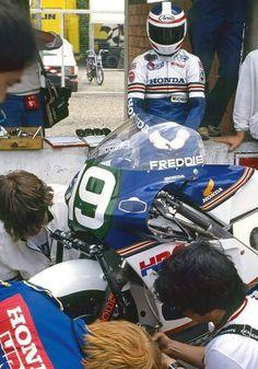 Freddie Spencer 1985 Honda NSR 250c.c.
