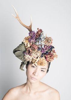 【京都】頭の上で活け花? 日本で唯一の「花結い師」TAKAYAの技術がスゴイ! - いまトピ