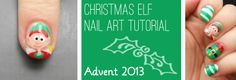 Advent Tutorial: Elf | She Who Does Nails