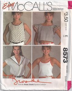 Brooke Shields Waist Length Pullover Womens Top Edges by Rosie247, $7.99