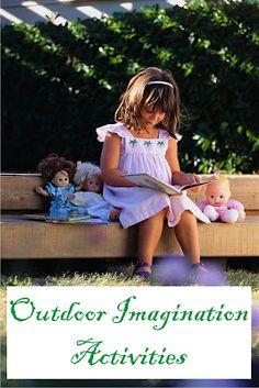 outdoor imagination activities