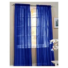 Tab Top Curtains Amazon Blue Stripe Sheer Curtains