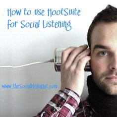 How to use HootSuite for Social Listening  #HootSuite #HootSuiteSeries #SocialMedia #SocialListening #Prospecting #CustomerService