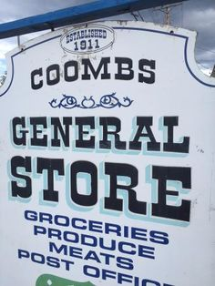 Coombs General store, Coombs, BC
