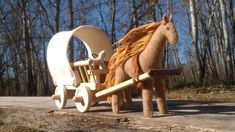 Presents For Boys, Gifts For Boys, Toys For Boys, Mother And Baby Elephant, Horse Drawn Wagon, Wooden Wagon, Green Farm, Big Horses, Horse And Buggy