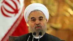 Hassan Rohani, le 17 janvier 2016 à Téhéran. Le président iranien s'en est pris…