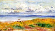 On a Cliff 1880 | Pierre Auguste Renoir | Oil Painting