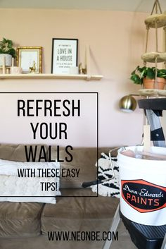 Refresh Your Walls With These Painting Tips! #dunnedwards #delivecolorfully #ad