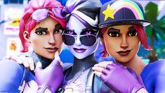 this i bomer she i cool and there are three of her Album Design, Foxy And Mangle, Film Games, Skin Images, Gamer Pics, Best Gaming Wallpapers, Epic Games Fortnite, Character Wallpaper, Popular Videos
