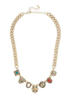 Aren't You Charming? Necklace in  from ModCloth on shop.CatalogSpree.com, your personal digital mall.
