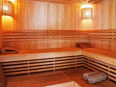 """Buy the royalty-free Stock image """"Sauna interior with wooden walls and benches"""" online ✓ All image rights included ✓ High resolution picture for print, . High Resolution Picture, Wooden Walls, Interior, Haku, Furniture, Countryside, Healthy Living, Home Decor, Google"""