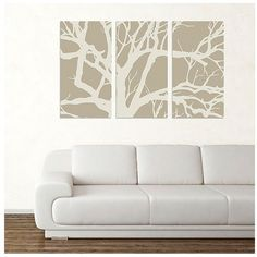 Tree Canvas Wall Art - jcpenney via Polyvore