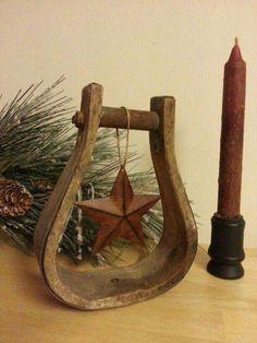 Christmas stirrup
