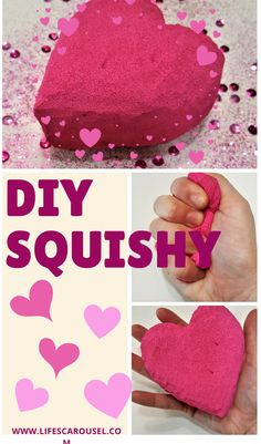 Make your very own DIY Squishies using just MEMORY FOAM and PAINT! Learn how to make a squishy with this easy tutorial. Summer Activities For Kids, Crafts For Kids, Craft Activities, Make Your Own, Make It Yourself, Slime Recipe, Diy Craft Projects, Kid Projects, Squishies