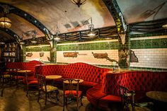 Tour This Vintage-Style Industrial Gin Bar Inspired by London's Abandoned Underground