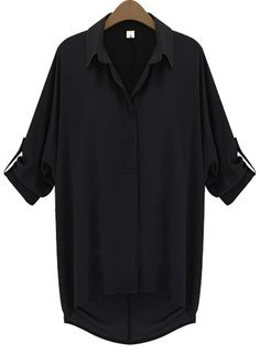every day black blouse
