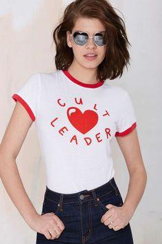 Lazy Oaf Cult Leader Tee