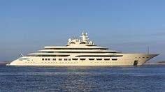 Lürssen's 156m Project Omar has been pictured heading for its first sea trial