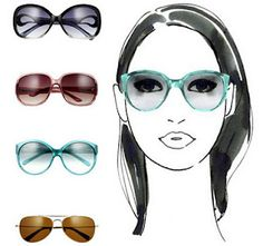 Sunglasses for Oval Faces