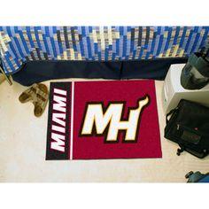 Miami Heat NBA Starter Floor Mat (20x30)