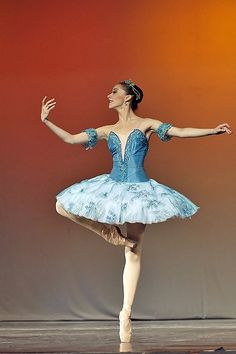 Dance: Graceful ballerina