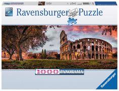 Ravensburger Puzzle 1000pc - Sunset Colosseum