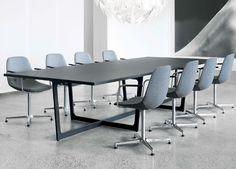 Tavolo da conferenza / rettangolare / indoor / moderno INSULA : EJ 190-199 by Ernst & Jensen Erik Jørgensen