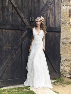 Robes de mariées Yolan Cris c'est celle ci qu il te faut :-)
