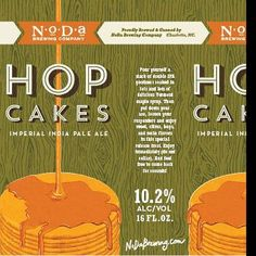 """Oh no they didn't! @nodabrewing  #hopcakes is getting canned this year!!! 10.2% Coming to a craft beer shop soon. Thanks @newspeakholdingco for the heads…"" www.shoplocalraleigh.org/brewgaloo"
