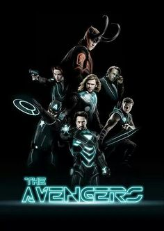 The Avengers and Tron