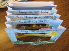 Tunnel books are fun and unique! We made ours with a postcard for a call and wrote a haiku. I made these with the note … Source by Related posts: Tunnel books are fun and unique! We have a postcard from a … Tunnel books are fun and unique! Teaching Poetry, Teaching Writing, Elementary Teaching, Poetry Game, Poetry Sites, Ecole Art, Writer Workshop, Book Making, School Projects