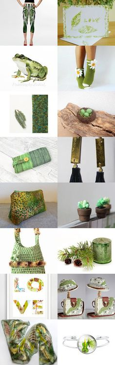Green finds by styledonna on Etsy--Pinned with TreasuryPin.com